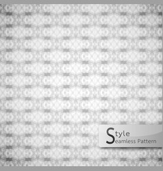 abstract seamless pattern perforate mesh white vector image