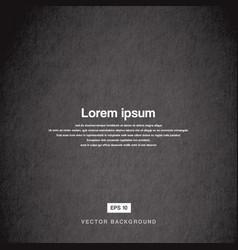 Background design texture old paper black vector