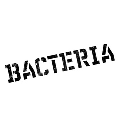 Bacteria rubber stamp vector