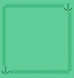 frame green 3 902 vector image