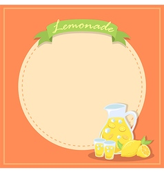 Fresh Lemonade Banner Poster vector