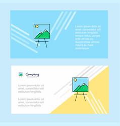 image abstract corporate business banner template vector image