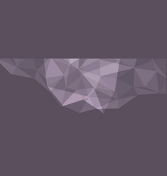 low poly abstract crystal halftone modern template vector image