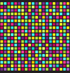 Multicolor square pattern seamless geometric vector