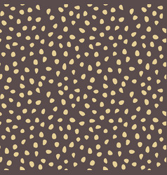 Seamless background with random shapes vector