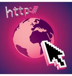 Website cursor vector image