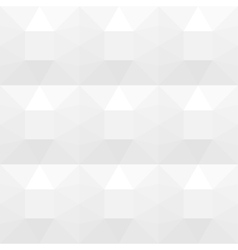 White shapes texture - seamless background vector image