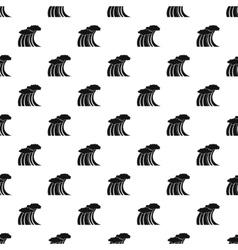 Sea or ocean wave pattern simple style vector