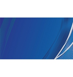 Blue template background vector image vector image
