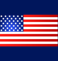 american flag for independence day eps vector image
