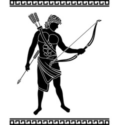 ancient bowman vector image