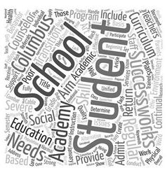 Columbus Schools Create SuccessWorks Academy to vector
