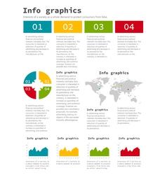 Info graphic company3 vector