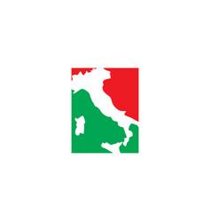 Italy map logo icon symbol element vector