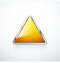 Triangle 1 orange vector