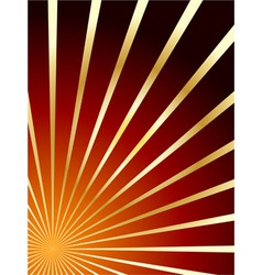 red and gold abstract background vector image vector image
