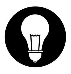 School bulb idea creativity innovation icon vector