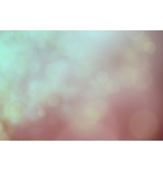Abstract softly nature light bokeh background vector image
