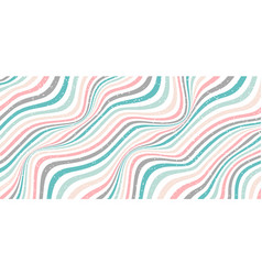 abstract classic wave or wavy stripes pastel vector image
