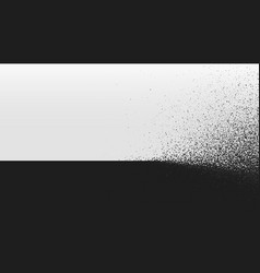 black and white background dust explosion vector image