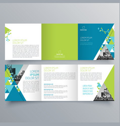 Brochure design 723 vector