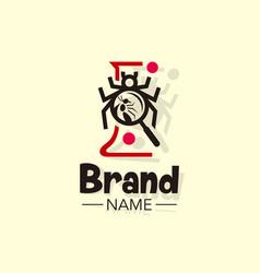 Bugs lab logo vector