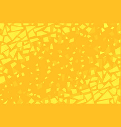 Cracked yellow background vector