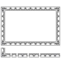 Modular frame vector