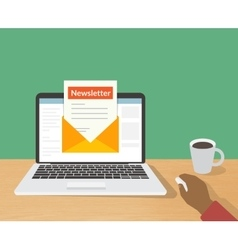 Newsletter vector