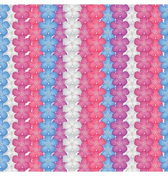 small flower pattern vector image