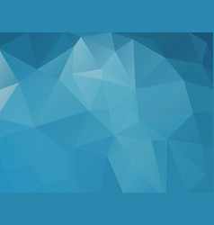 triangular blue abstract background vector image