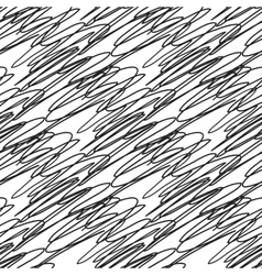 Abstract seamless black and white zigzag pattern vector image