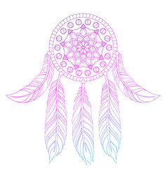 hand drawn of ethnic vector image vector image