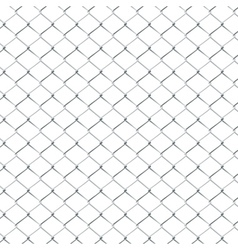 Metal Mesh Fence3 vector image vector image
