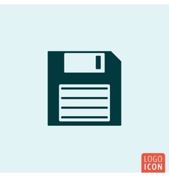 Save icon template vector image vector image