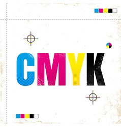 cmyk new vector image vector image