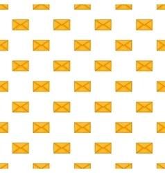 Envelope pattern cartoon style vector image vector image