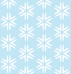 Christmas blue seamless background vector image