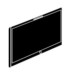 device tablet technology gadget with blank screen vector image