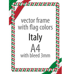 Flag v12 italy vector