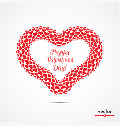 Frame hearts vector