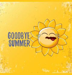 Goodbye summer ccreative concept vector