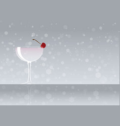 Official cocktail icon the unforgettable white vector
