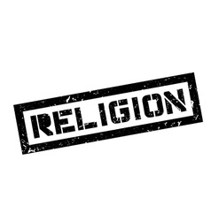 Religion rubber stamp vector image