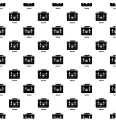 Satchel bag pattern seamless vector