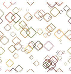 Seamless geometrical square pattern background - vector