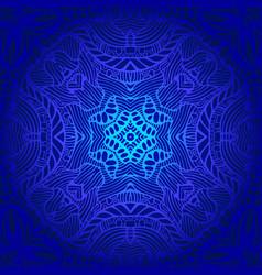vintage psychedelic trippy colorful fractal vector image