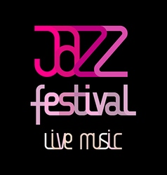 jazz live music vector image vector image