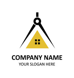 Architects logo design inspiration vector