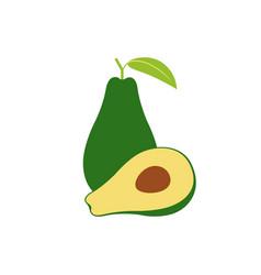Avocado sign vector